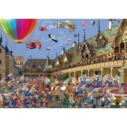Puzzle 1000 pièces - Vendanges à Beaune