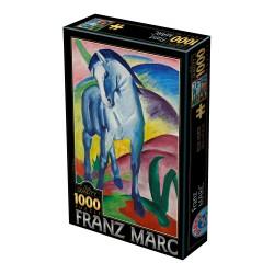 Puzzle 1000 pièces - Blue Horse, Franz Marc