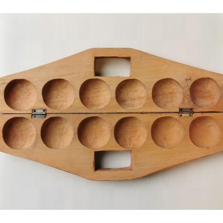 Awale Traditionnel en bois - mallette