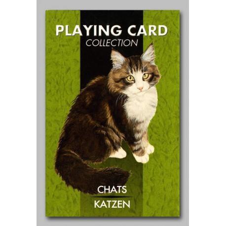 Cartes à jouer les Chats