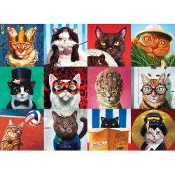 Puzzle 1000 pièces - Funny Cats