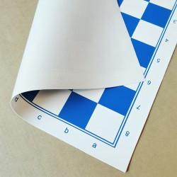 Tapis Echecs Souple Bleu - Taille 5