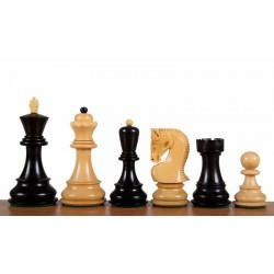 Pièces d'Echecs Fischer Russes Knight Black - Taille 5