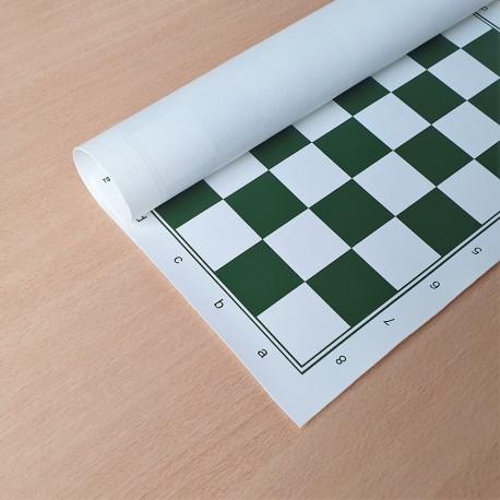 Tapis Echecs Souple Vert - Taille 4.5