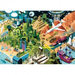 Puzzle 1000 pièces - Tim Burton Films