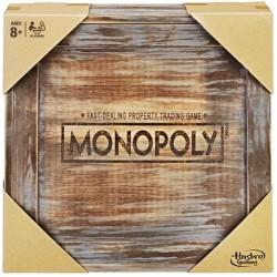 Monopoly Vintage en Bois