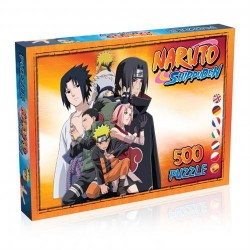 Puzzle 500 pièces - Naruto Shippuden