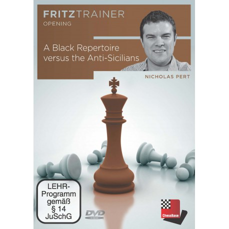 DVD Pert - A Black Repertoire versus the Anti-Sicilians