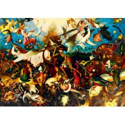 Puzzle 1000 pièces - La Chute des Anges Rebelles de Pieter Brueghel The Elder
