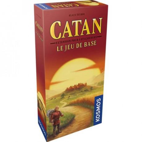 Catan - Extension 5 & 6 joueurs