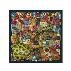 Puzzle 210 pièces - Palapeli : Mountain Village