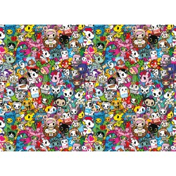 Puzzle 1000 pièces Impossible : Tokidoki