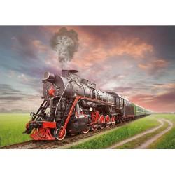 Puzzle 2000 pièces - Steam Locomotive