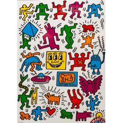 Puzzle 1000 pièces - Keith Haring
