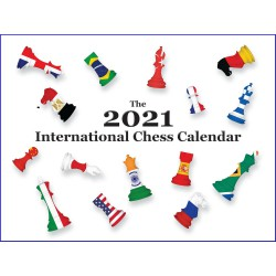 Calendrier 2021 Jeu d'Echecs - International Chess Calendar
