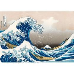 Puzzle 1000 pièces - La Grande Vague de Kanagawa - Hokusai