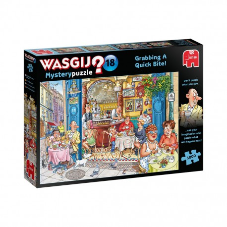 Puzzle 1000 pièces Wasgij ? : Une Bouchée pour Chacun
