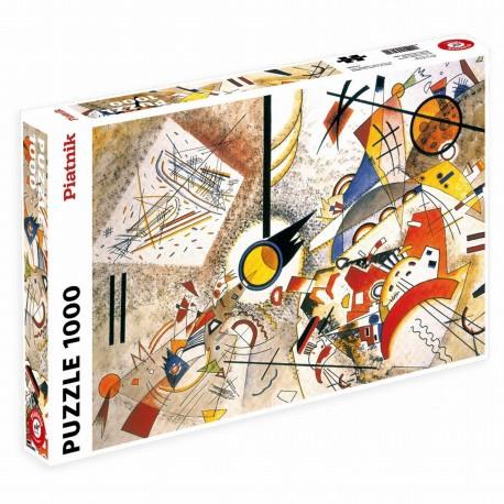 Puzzle 1000 pièces - Kandinsky : Bustling Aquarelle 1923
