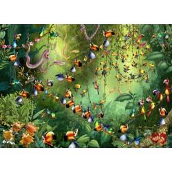 Puzzle 1000 pièces - Ruyer : Ribambelle de Toucans