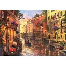 Puzzle 1500 pièces - Coucher de Soleil à Venise