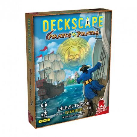 Deckscape : Pirates vs Pirates - L'ile au trésor