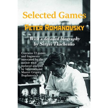 Romanovsky - Selected Games (hardcover)