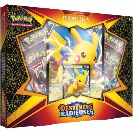 Pokemon : Coffret Pikachu-V - EB4.5 Destinées Radieuses
