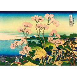 Puzzle 1000 pièces - Shinagawa on the Tokaido