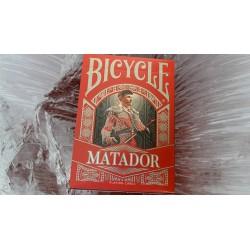 Cartes à jouer Bicycle Matador - Red
