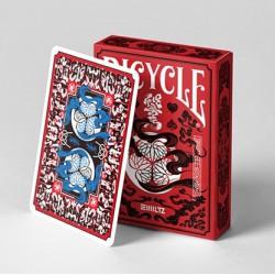 Cartes à jouer Bicycle Edo Karuta - Red