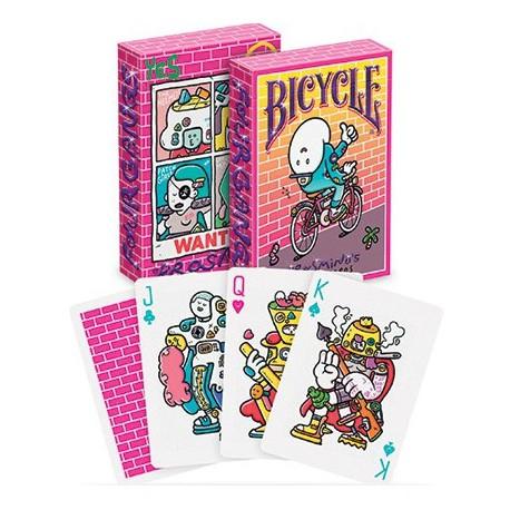Cartes à jouer Bicycle Brosmind 4 Gangs