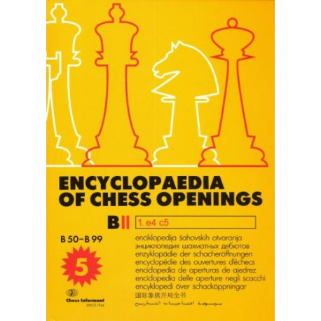 Encyclopaedia of Chess Opening B2 (5th edition)