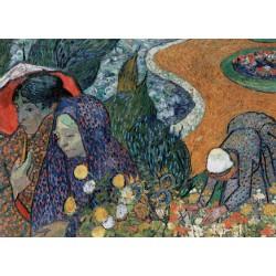 Puzzle 1000 pièces - Souvenir du Jardin à Etten, Van Gogh