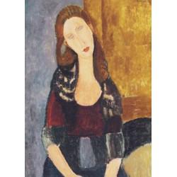Puzzle 1000 pièces - Portrait de Jeanne Hébuterne