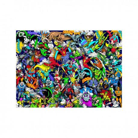Puzzle 1000 pièces - Impossible DC Comics