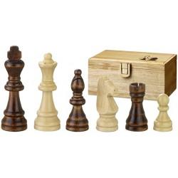Pièces d'échecs en bois Remus - Taille 4.5