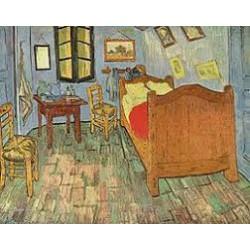 Puzzle 1000 pièces - La Chambre à Arles de Van Gogh