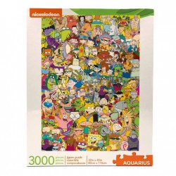 Puzzle 3000 pièces - Nickelodeon Cast Collector