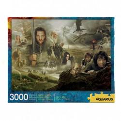 Puzzle 3000 pièces - Seigneur des Anneaux Saga Collector