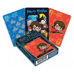 Cartes à jouer Harry Potter Chibi
