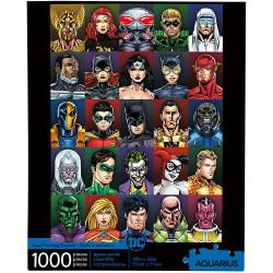 Puzzle 1000 pièces - DC Comics Personnages