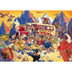Puzzle 1000 pièces Wasgij Mystery 5 : Late Booking