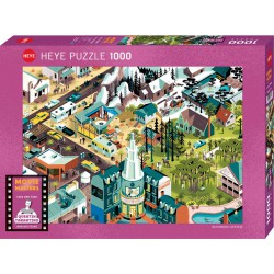 Puzzle 1000 pièces - Tarantino Films