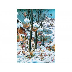 Puzzle 1000 pièces - Paradise in Winter