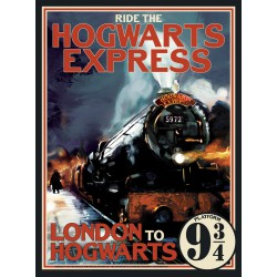 Puzzle 1000 pièces - Ride the Hogwarts Express
