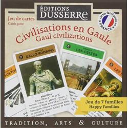 Jeu de cartes - 7 familles - Les Civilisations en Gaule