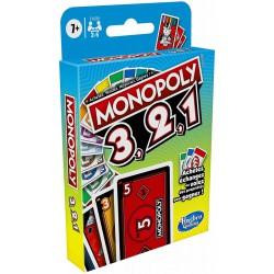 Monopoly 3,2,1 Jeu de Cartes