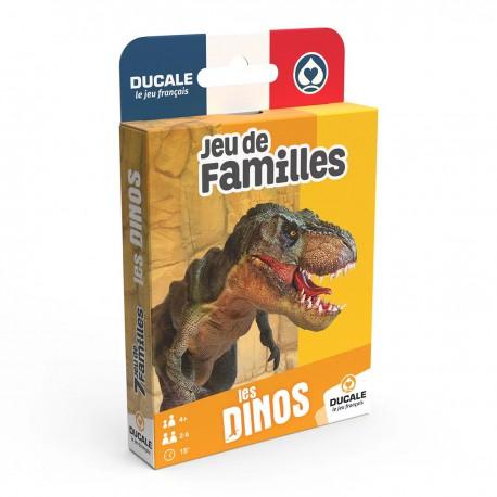Cartes à jouer - 7 familles - Dinosaures