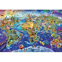 Puzzle 1000 pièces - Naruto Shippuden
