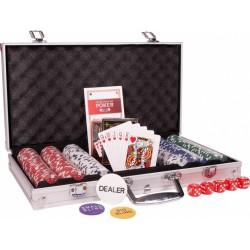 Mallette Poker 300 jetons Classique 11.5g